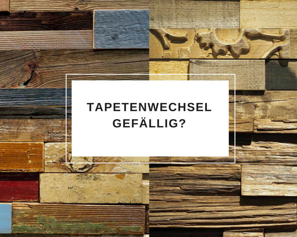 Wandgestaltung mit altholz wandpaneelen - Wandpaneele altholz ...